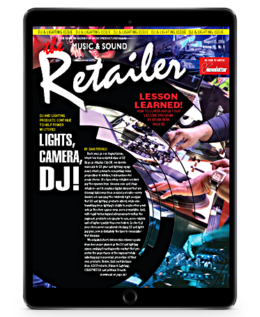 The Retailer' - DJ & LIGHTING REVIEW ISSUE